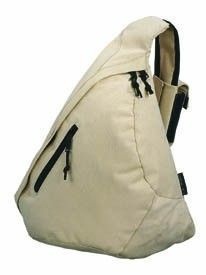 #PROMOTIONAL GIFT - STREETLIFE TRIANGLE CITY BAG Features Single Strap & Mobile Phone Holder. 600d Polyester. Excellent Range of Colours all of Which Contrast with Black Trims