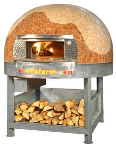 Morello Forni - Traditional wood oven range L and LP Wood Oven, Wood Fired Oven, Wood Fired Pizza, Palm Spring Condo, Homemade Smoker, Four A Pizza, Outdoor Oven, Scrap Wood Projects, Bar Interior
