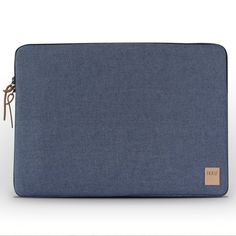 IKKU MacBook Sleeve 15 inch € 59,99 This clean and future-friendly sleeve is designed to protect your 15'' MacBook (Air & Pro) Recycled denim Organic cotton woven inner label Leather detailing Recycled cardboard packaging Secure double metal high quality YKK zippers Soft interior lining