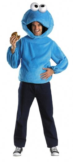 This adult Cookie Monster costume is a fun part of the Sesame Street adult costumes collection. Get this Cookie Monster costume to go with a group. Costumes For Teens, Cool Costumes, Adult Costumes, Halloween Kostüm, Halloween Costumes, Sesame Street Costumes, Cookie Costume, Black Friday Toy Deals, Sesame Street Cookies