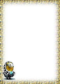 Made by Pecoranera Printable Recipe Cards, Printable Paper, Disney Scrapbook, Scrapbooking, Disney Writing, Minions, Minion Invitation, Stationary Printable, Paper Box Template