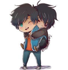 Qo Q Adorable. ♥♥♥♥ I'm sorry Percabeth, you are perfect. But I still ship Perico. ♥