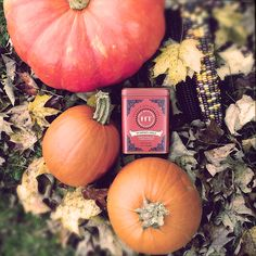 Keep Autumn Alive! HT Pumpkin Spice - A masterful blend of pumpkin and warming spices. This herbal brews a bright red and is light-bodied. (SKU: 30629, 20 sachet tin, $5.99 https://www.harney.com/pumpkin-spice-20-sachet-tin.html