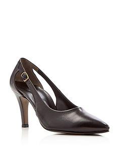 Shape 75 Round Elegant, Escarpins Femme, Noir (Black), 38 EUEcco