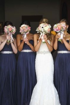 blue silver and pink bouquet - Google Search