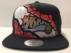 best loved b61a4 c8add Philadelphia 76ers Mitchell  amp  Ness NBA Snapback Hat