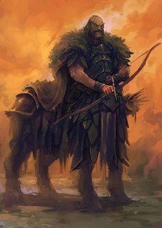 m Centaur Fighter Hvy Armor Longbow Sword Fantasy Races, High Fantasy, Fantasy Warrior, Fantasy World, Fantasy Art, Mythological Creatures, Fantasy Creatures, Mythical Creatures, Dnd Characters
