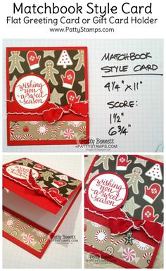 Luv 2 Stamp Group online event project tutorial! Last Saturday was a great live online webinar training event for the Luv 2 Stamp Group, and I demonstrated how to create these matchbook style projec