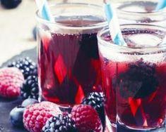 Recette de Thé glacé aux fruits rouges Starbucks Drinks, Mojito, Sangria, Cocktails, Tableware, Dessert, Food, Fruit Tea, Red Berries