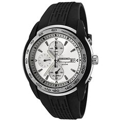 Men's Wrist Watches - Seiko Alarm Chronograph SNAB99P1 SNAB99P SNAB99 Mens Watch -- Details can be found by clicking on the image.