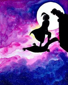 Aladdin watercolor