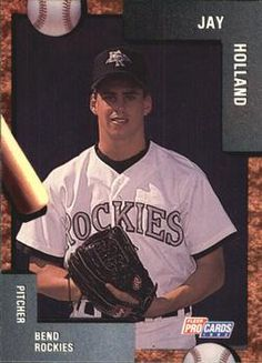 1992 Fleer/ProCards #1470 Jay Holland Front