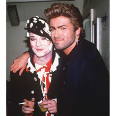 Boy George and George Michael
