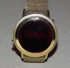 Vintage Digitime LED Watch, Circa 1970s