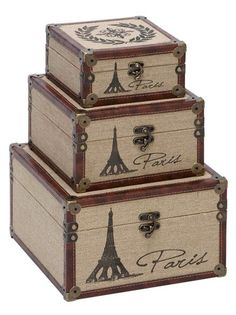 Parisian Decor/Eiffel Tower Theme - these would look fantastic in my living room!