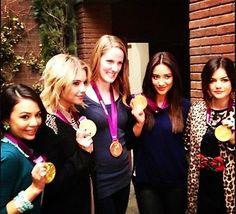 Missy Franklin comes to PLL:) The episode airs in 2 weeks!!