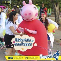 Llevar alegría a todos es lo que #peppa mejor sabe hacer.  PequesParty Fábrica de Sonrisas!  #maracaibo #venezuela #show #personajes #kids #party #mcbo #peppapig #diversion #entretenimiento #sonrisas  #todoincluido #paquetes #combo #zulia #261 #igersmcbo
