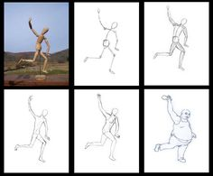 Manikin Drawing step by step 43 Human Figure Sketches, Figure Sketching, Figure Drawing, Gesture Drawing, Body Drawing, Step By Step Drawing, Drawing For Kids, Art For Kids, Drawing Topics