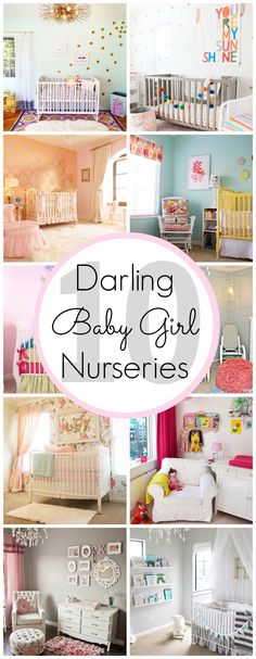 10 Darling Baby Girl Nursery Ideas - www.classyclutter.net
