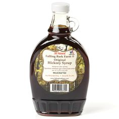 Something Deliciously Different for Breakfast      It's time to introduce this syrup to your pancakes. Its sweet, slightly smoky, woodsy flavor will have you licking the last drops from your plate. It's not just handcrafted, it's wildcrafted – made from gathered, naturally shed hickory bark that's toasted, aged, filtered and mixed with turbinado sugar to create an exquisite flavor that's enjoyed the world over.         A great source of magnesium, too!       Made by a Virginia family…