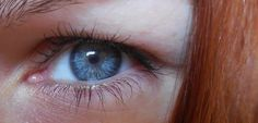 My left eye (no retouch, with make-up)