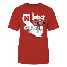 Nebraska Husker Fan Club - California Chapter T-Shirt, Officially Licensed Nebraska Husker Fan Club apparel and Fan Gear  For the Nebraska Blackshirts fan who lives in California. Throw the Bones, Texas style and show your support of the Nebraska Defense. Nebraska fans are always and forever loyal, fans forever.  Everyone knows Husker football fans... The Nebraska Cornhuskers Collection, OFFICIAL MERCHANDISE  Available Products:          Gildan Unisex T-Shirt - $25.95 Gildan Unisex Pullover…