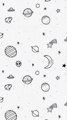 Just for feed😂 Vise na proslom⚘ Alien Drawings, Tumblr Drawings, Easy Drawings, Theme Dividers Instagram, Instagram Divider, Alien Aesthetic, Aesthetic Space, Aesthetic Drawings, Tumblr Backgrounds