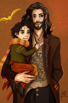 nastjastark:  headcanon: Sirius didn't go to Azkaban oh god how am I going to live with it