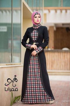 for this Tailer fit designer wear Abaya Fashion, Modest Fashion, Fashion Dresses, Girl Fashion, Muslim Women Fashion, Islamic Fashion, Muslim Dress, Hijab Dress, Hijab Style