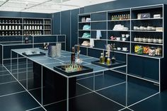 Selling all manner of gifts and bits n' bobs, Tokyo store Le MISTRAL gets a grid-like layout thanks to JP architects.