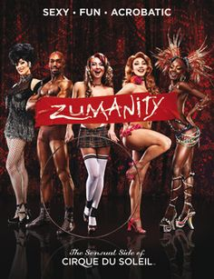"Zumanity, ""The Sensual Side of Cirque Du Soleil"" at New York-New York Hotel and Casino."