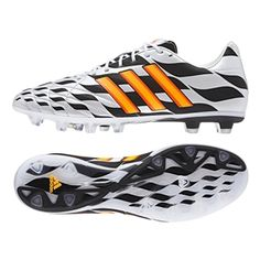 outlet store 9f550 f90b6 The Adidas adiPure 11Pro Battle Pack TRX FG Soccer Cleats (Core White Solar  Gold