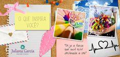 Por que e para que ter um? Leia e se inspire: http://julianaggarcia.com.br/painel-de-inspiracoes/