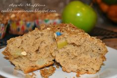 Apple Muffins - This moist and delicious Apple Muffin recipe uses apples, applesauce, and apple pie spice.