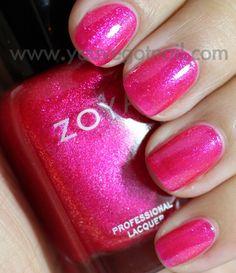 Zoya Gilda  Fill line on top of z on zoya