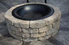 how to build a firepit, outdoor living