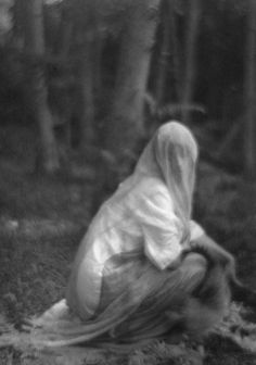 Imogen Cunningham*, Veiled Woman, 1910/1975 / The Unseen Eye: Photographs from the Unconscious (Aperture, 2011) by W.M. Hunt *