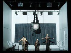 Klaus Grünberg, set and light design for Le Grand Macabre (Ligeti), Oper Bremen, 2007