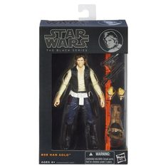 Buy Star Wars Black Series Han Solo Action Figure at Mighty Ape NZ. Han Solo has a final showdown with the bounty hunter Greedo in the Mos Eisley cantina. Re-create the biggest battles and missions in the Star Wars ep. Han Solo Figure, Big Battle, Thing 1, Presents For Kids, Star Wars Action Figures, Star Wars Toys, Star Wars Rebels, Black Series