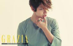 changmin - Grazia Magazine February Issue '14