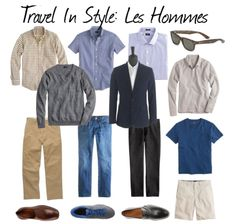 Travel Wardrobe Capsule For Men | une femme d'un certain âge