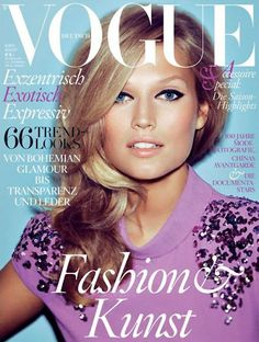 Toni Garn graces the Cover for VOGUE Germany | Spoilt