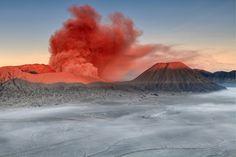 #CB3232, Helminadia Jabur, Mount Bromo, Indonesia