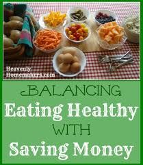 Balancing Eating Healthy With Saving Money Real Food Recipes, Yummy Food, Healthy Recipes, Healthy Meals, Food Hacks, Food Tips, Frugal Meals, Money Saving Tips, Homemaking