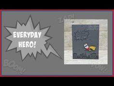 Who's your everyday hero?   Stampin' Up!, card, paper, craft, scrapbook, rubber stamp, hobby, how to, DIY, handmade, Live with Lisa, Lisa's Stamp Studio, Lisa Curcio, www.lisasstampstudio.com