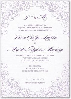 75 for $164.25; 100 for $189.00; 125 for $223.75 Dazzling Lace - Signature White Wedding Invitations - Sarah Hawkins Designs - Gunmetal - Gray : Front