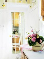 Easy-to-Make Faux French Door