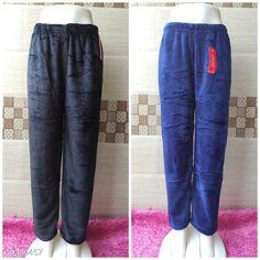 Pyjamas and Lounge Pants  Trendy Women Fancy Lower Fabric: Velvet Pattern: Solid Multipack: 2 Sizes:  32 (Waist Size: 32 in Length Size: 39 in Hip Size: 34 in)  34 (Waist Size: 34 in Length Size: 39 in Hip Size: 36in)  36 (Waist Size: 36 in Length Size: 39 in Hip Size: 38 in)  38 (Waist Size: 38 in Length Size: 39 in Hip Size: 40 in)  40 (Waist Size: 40 in Length Size: 39 in Hip Size: 42 in) Country of Origin: India Sizes Available: 28, 30, 32, 34, 36, 38, 40, 42   Catalog Rating: ★4 (849)  Catalog Name: Ravishing Fashionista Women Palazzos CatalogID_1625983 C76-SC1054 Code: 074-9309457-0021