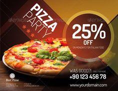 Flyer For Pizza Restaurant