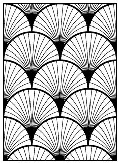 2845 best heart deco images in 2019 art deco design art deco Mahogany Tree geometric patterns art deco 3 art deco coloring pages for adults just color